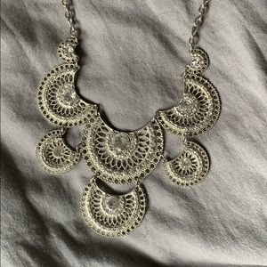 Francesca's Collections Jewelry - Silver Statement Necklace